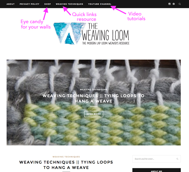 Weaving Techniques Twist Loops To Hang A Weave The Weaving Loom